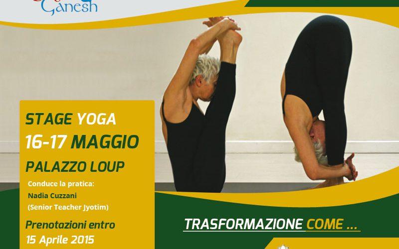 Stage Yoga Trasformazione Come…