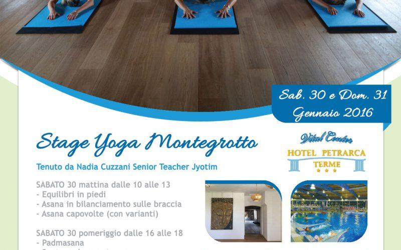 Stage Yoga Montegrotto Terme