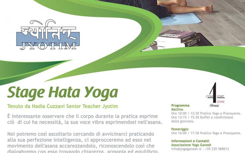 Stage Yoga, Lascia Parlare il Corpo, presso Comfort Zone