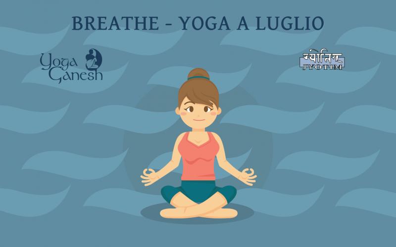 Respirare – Yoga a Luglio