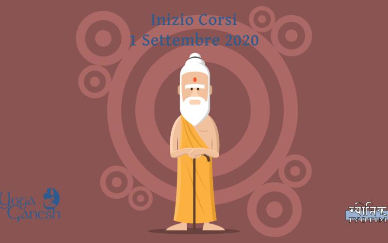 Inizio Corsi Yoga 1 Settembre 2020